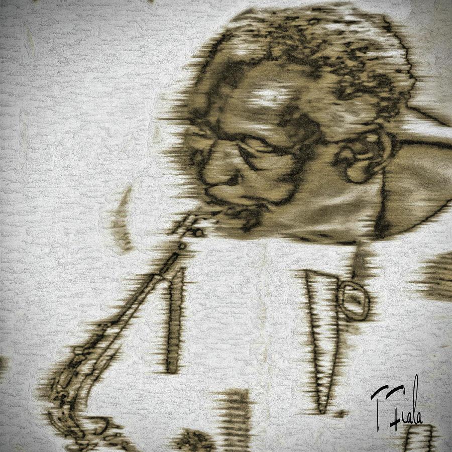Frank Morgan Digital Art - Frank Morgan by Terry Fiala