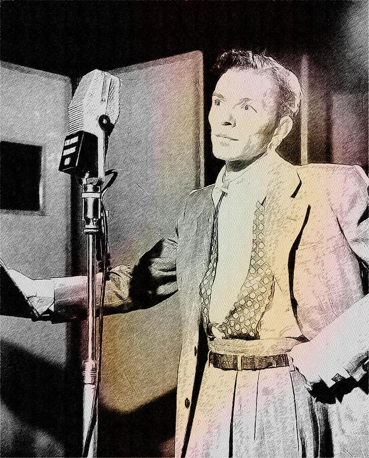 Actor Photograph - Frank Sinatra 1947 by Ericamaxine Price