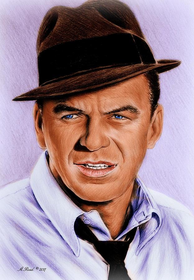 Frank Sinatra Blue Edit Drawing