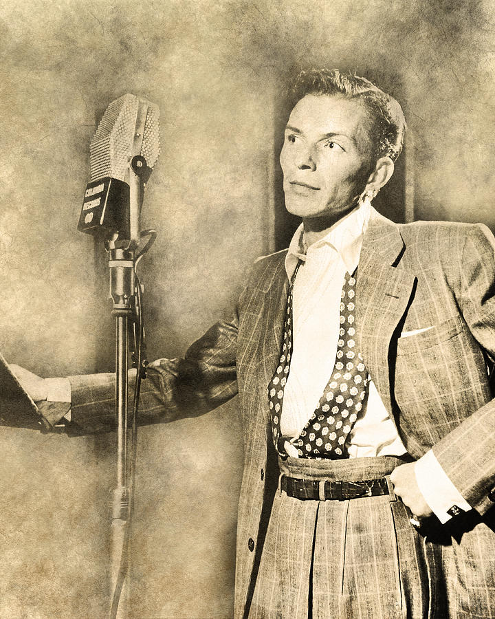 Frank Sinatra Crooner by Anthony Murphy