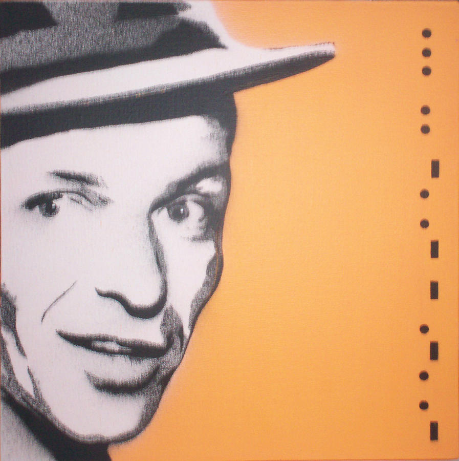 Frank Sinatra Painting - Frank Sinatra by Gary Hogben