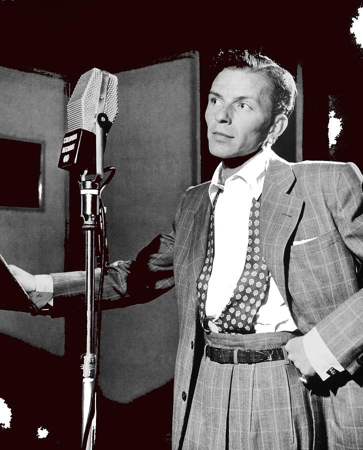 Frank Sinatra William Gottlieb Photo Liederkranz Hall New York City 1947-2015 Photograph by David Lee Guss