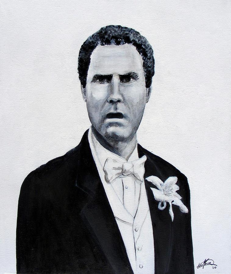 Will Ferrell Painting - Frank The Tank by Luke Morrison