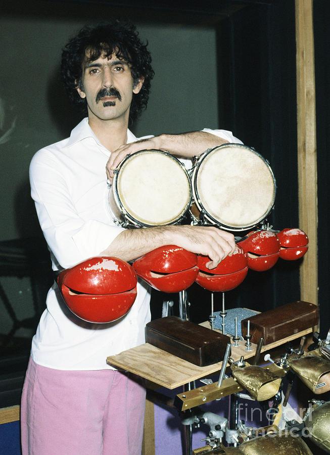 Frank Zappa Photograph - Frank Zappa 1982 by Chris Walter