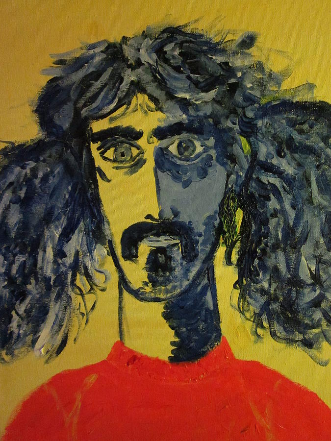Frank Zappa Painting - Frank Zappa by David Sutter