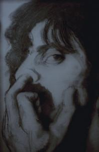 Frank Zappa Drawing - Frank Zappa Genius by Janet Gioffre Harrington