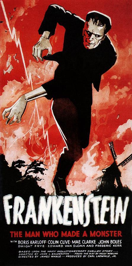 1930s Movies Photograph - Frankenstein, Boris Karloff, 1931 by Everett