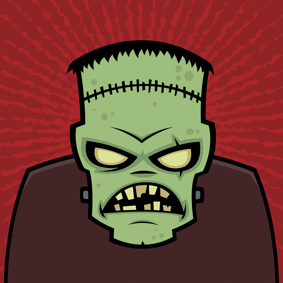 Frankenstein Monster Digital Art