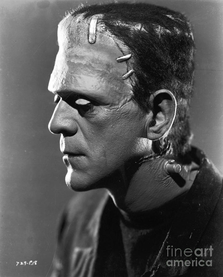 Frankenstein Monster Photograph - Frankenstein by R Muirhead Art
