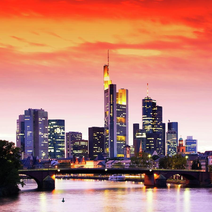 Europe Photograph - Frankfurt 02 by Tom Uhlenberg