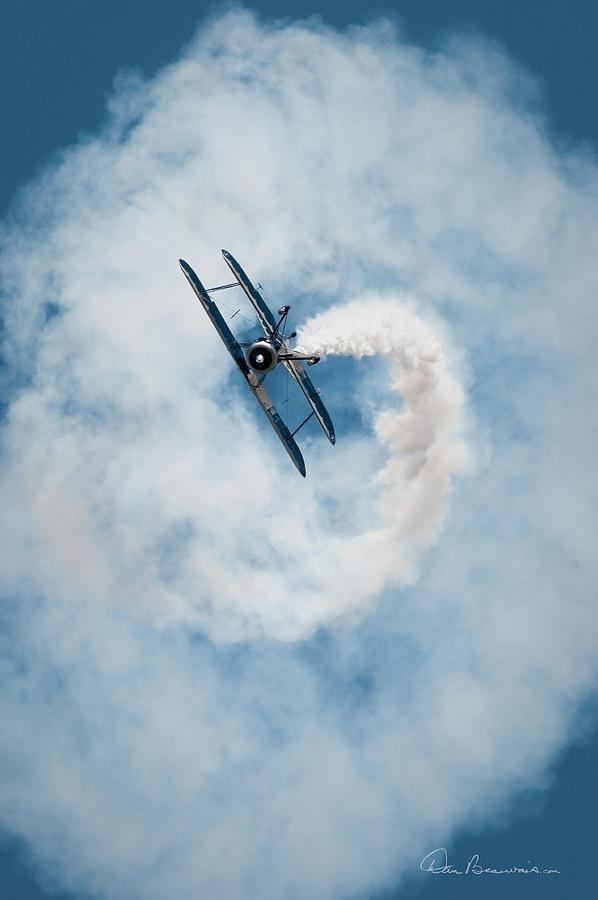 Franklin Smoke Spiral 3780 Photograph
