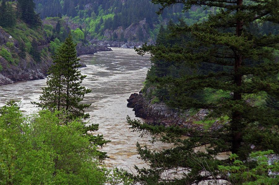 Fraser Photograph - Fraser River British Columbia by Robert Braley
