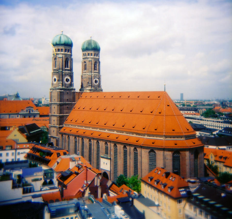 Bavaria Photograph - Frauenkirche Munich  by Kevin Smith