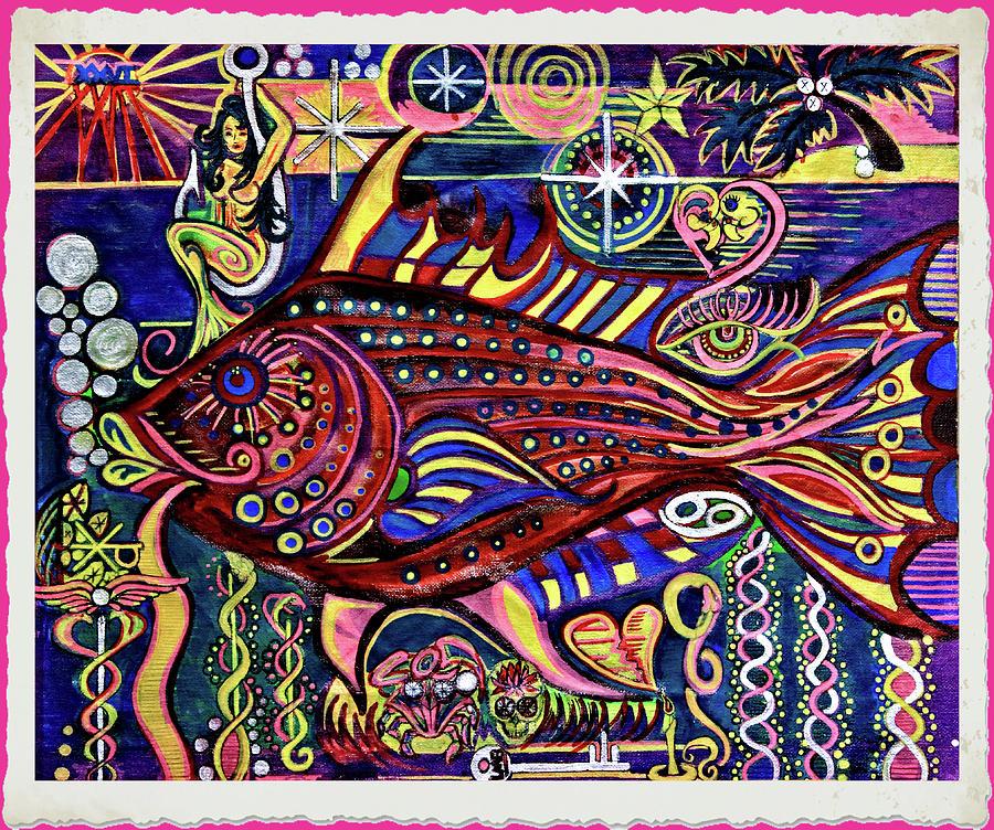 Freak Fish Painting