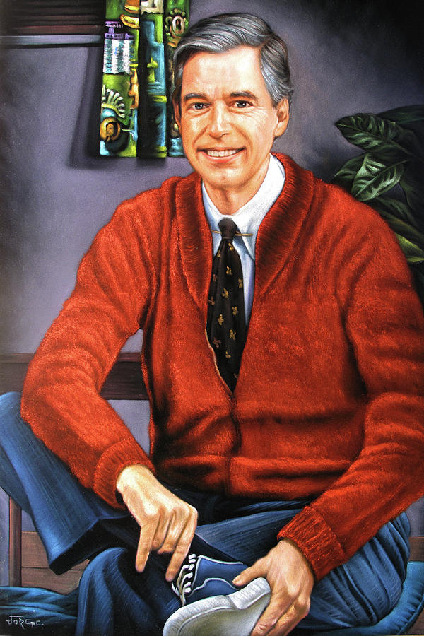 Fred Mcfeely Rogers Painting By Jorge Terrones