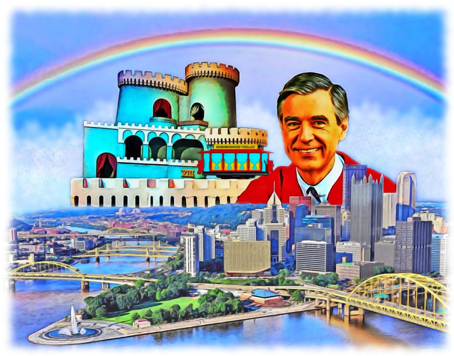 Pittsburgh Painting - Fred Rogers   by Charles Ott
