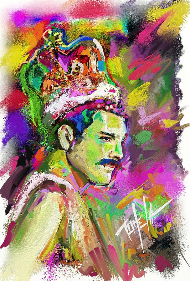 Freddie Mercury, Bohemian Rhapsody Painting