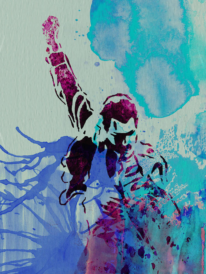 Freddie Mercury Painting - Freddie Mercury by Naxart Studio