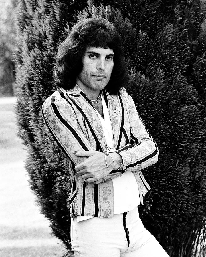 Freddie Mercury of Queen 1975 #2 by Chris Walter