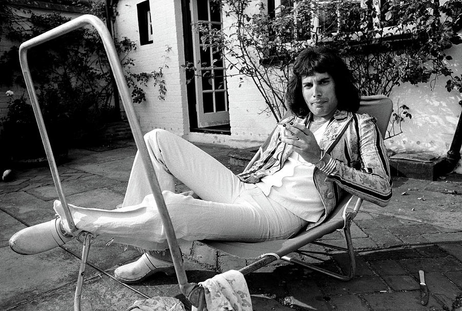 Freddie Mercury of Queen 1975 #3 by Chris Walter