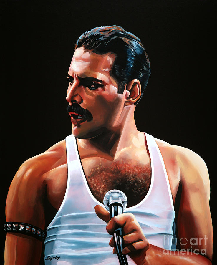 Freddie Mercury Painting - Freddie Mercury by Paul Meijering