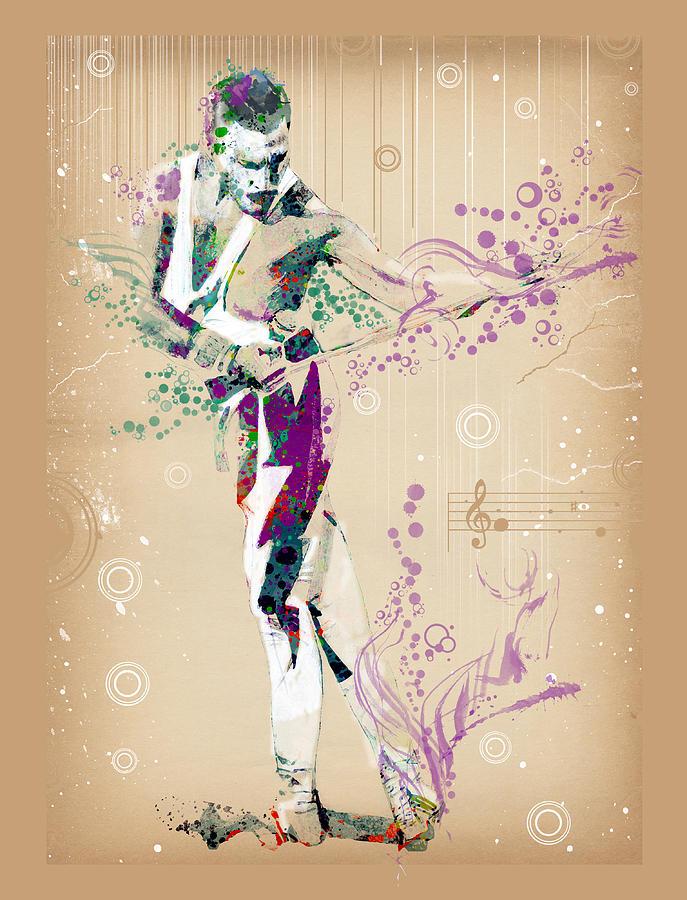 Freddie Mercury Digital Art - Freddie Mercury vintage 3 by Bekim M