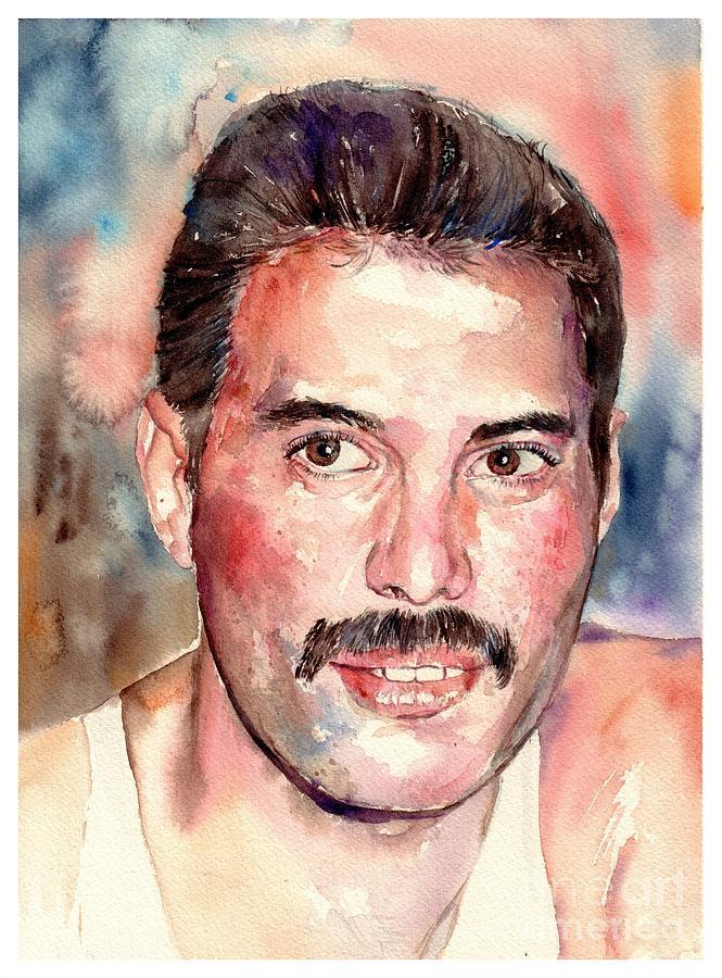 Freddie Painting - Freddie Smiling by Suzann Sines