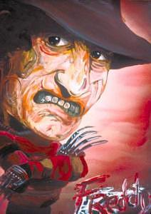 Freddy Drawing - Freddy by Kerry Johnson
