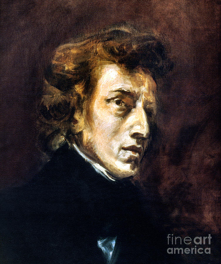1838 Photograph - Frederic Chopin by Granger