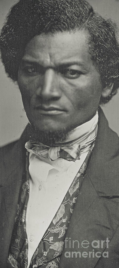 Frederick Douglass Photograph - Frederick Douglass by American School