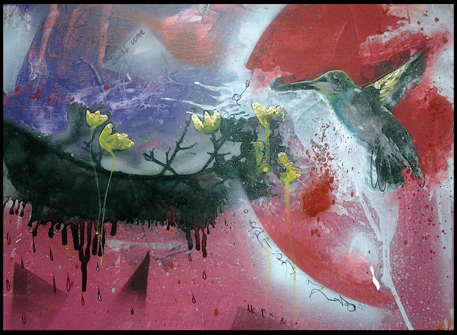 Free Bird Painting by Christian Gould