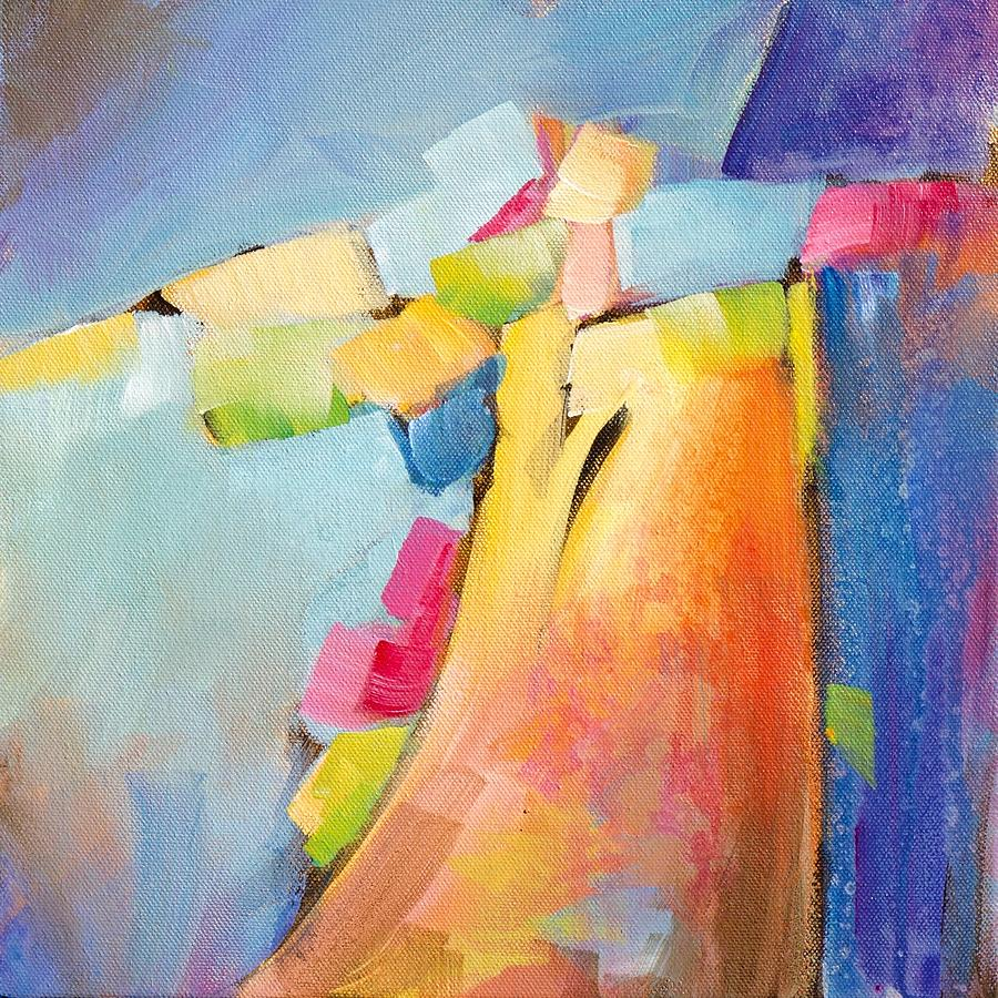 Abstract Painting Painting - Free Play by Karen Hale