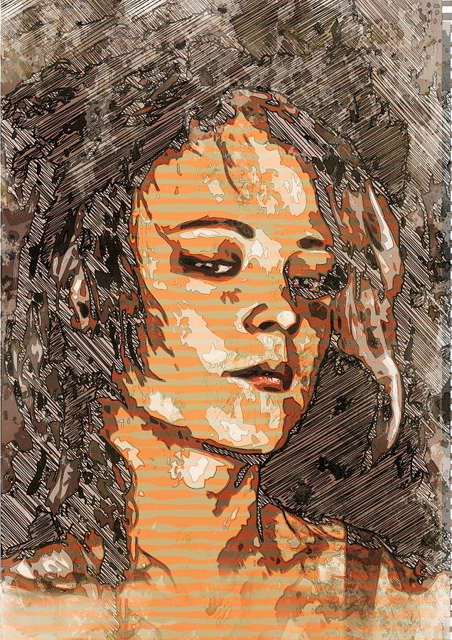 People Digital Art - Free Wheelingly by Haruo Obana