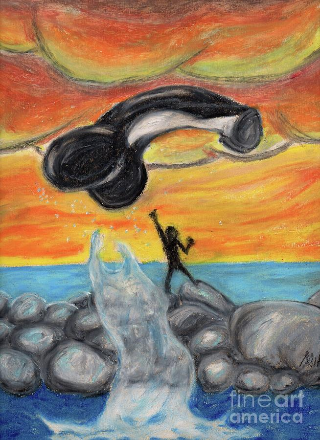 Free Willy Pastel By Dong Art