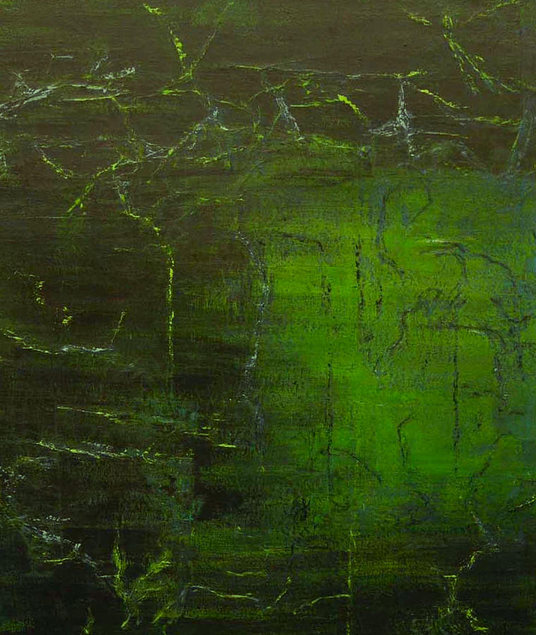 Abstract Painting - Freedom by Alice Lipping