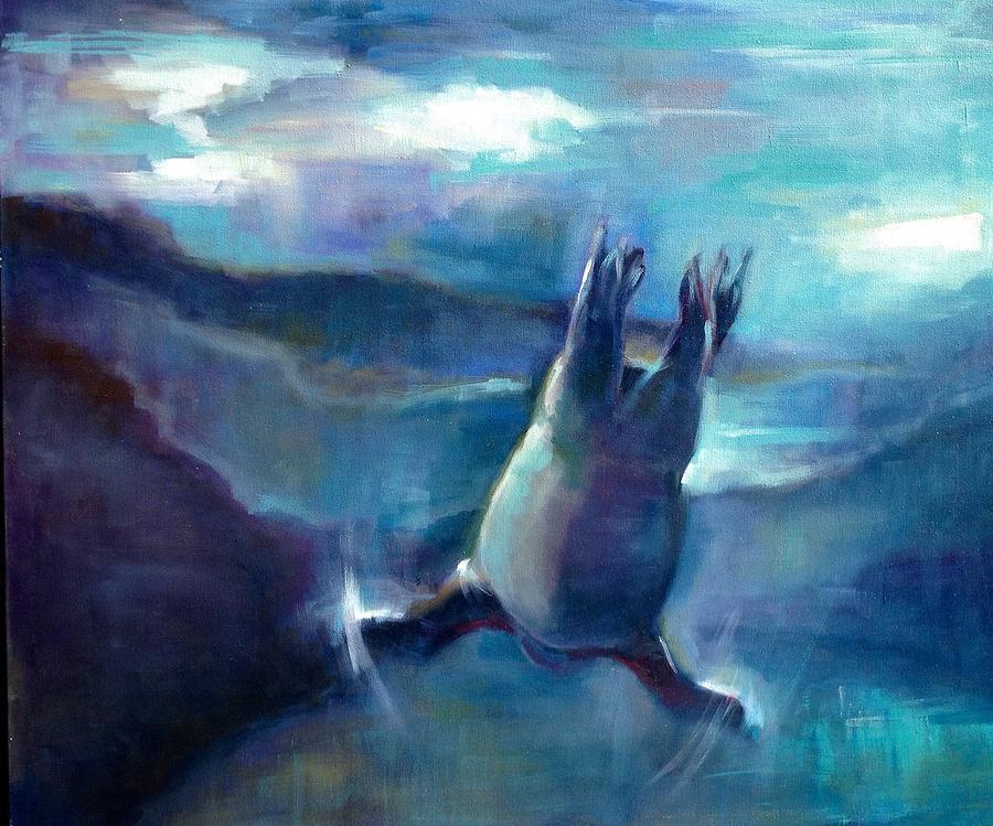 Freedom Painting by Cynthia Mozingo