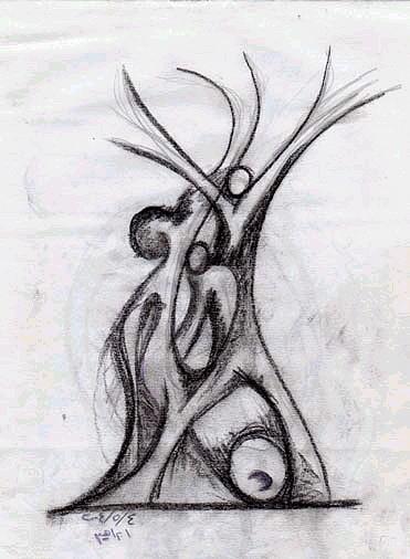 Freedom Drawing - Freedom by Ebrahim Metwaly