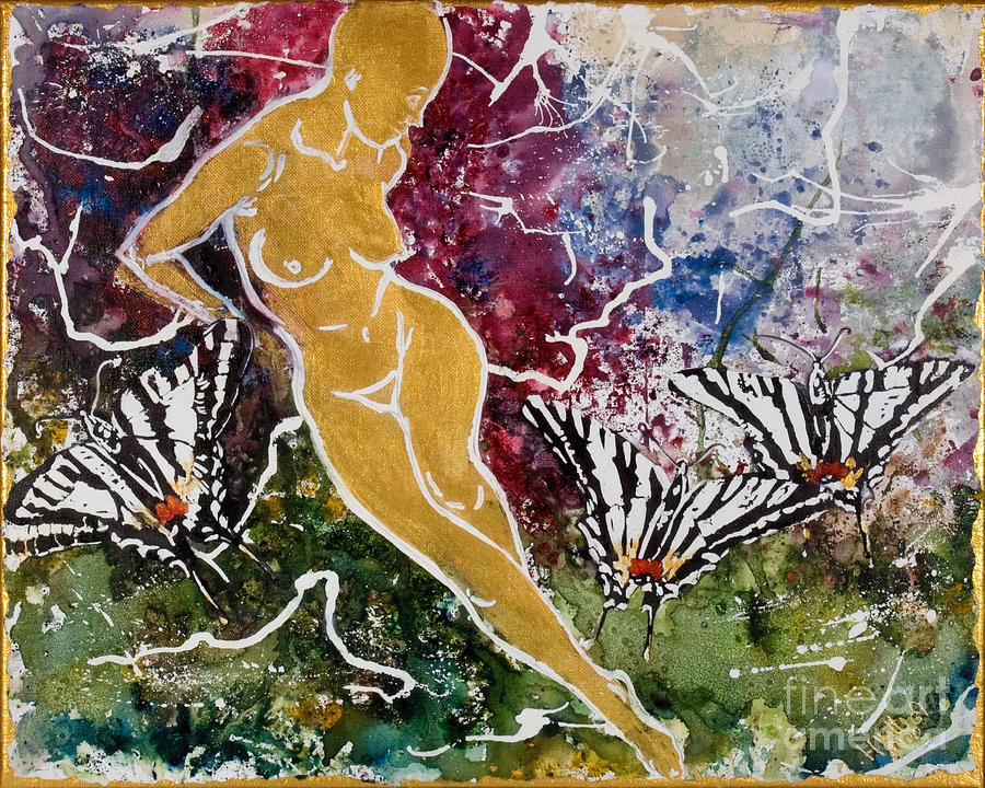 Nude Painting - Freedom by Elisabeta Hermann