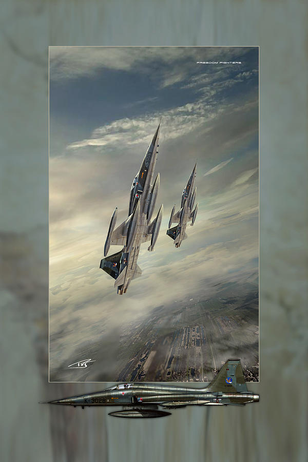 War Digital Art - Freedom Fighters Three by Peter Van Stigt