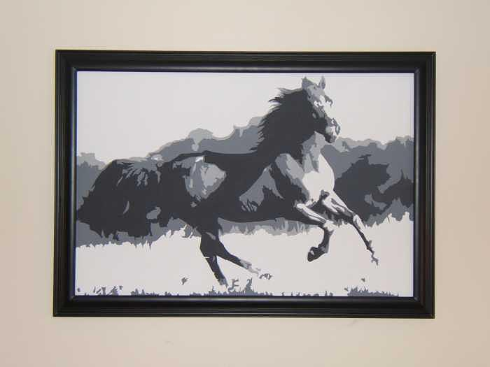 Horses Painting - Freedom I by Michael James Toomy