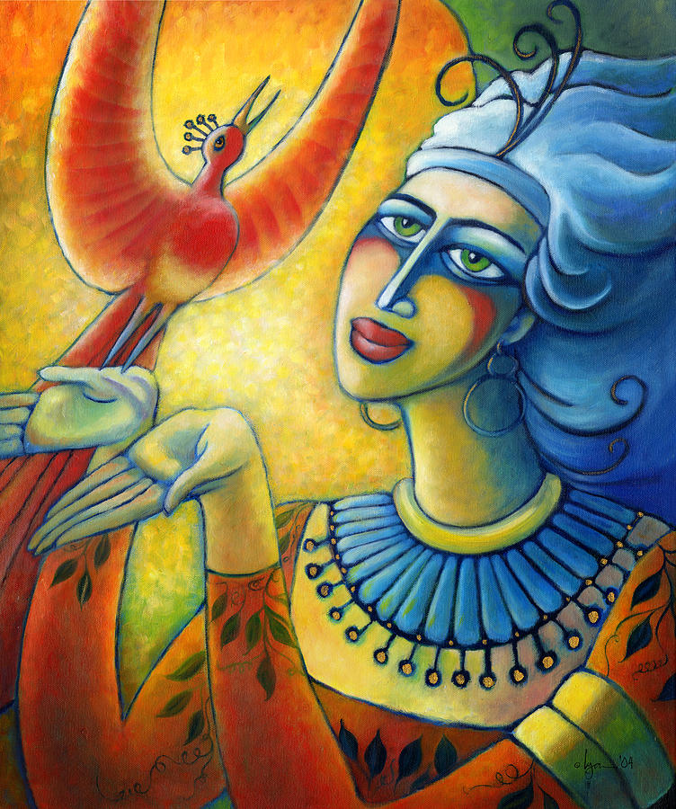 Dreams Painting - Freedom In Broad Daylight by Angela Treat Lyon