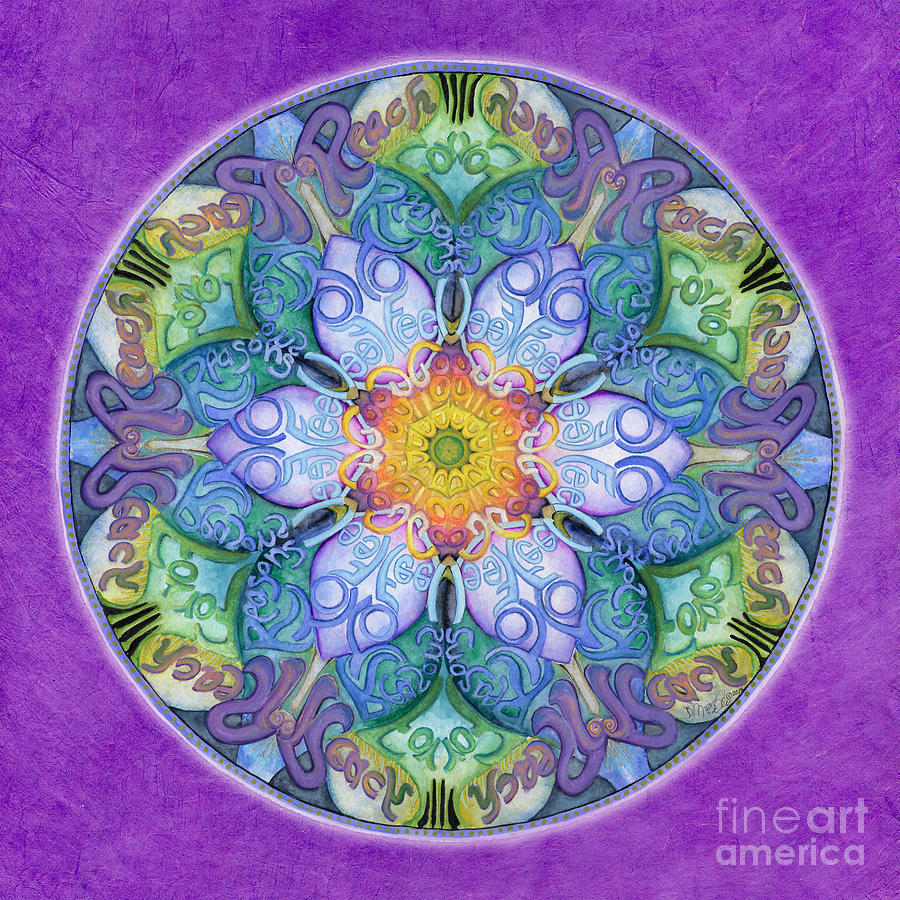 Freedom Mandala by Jo Thomas Blaine
