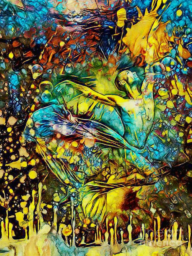 Freedom of Dance - Two by Olga Hamilton