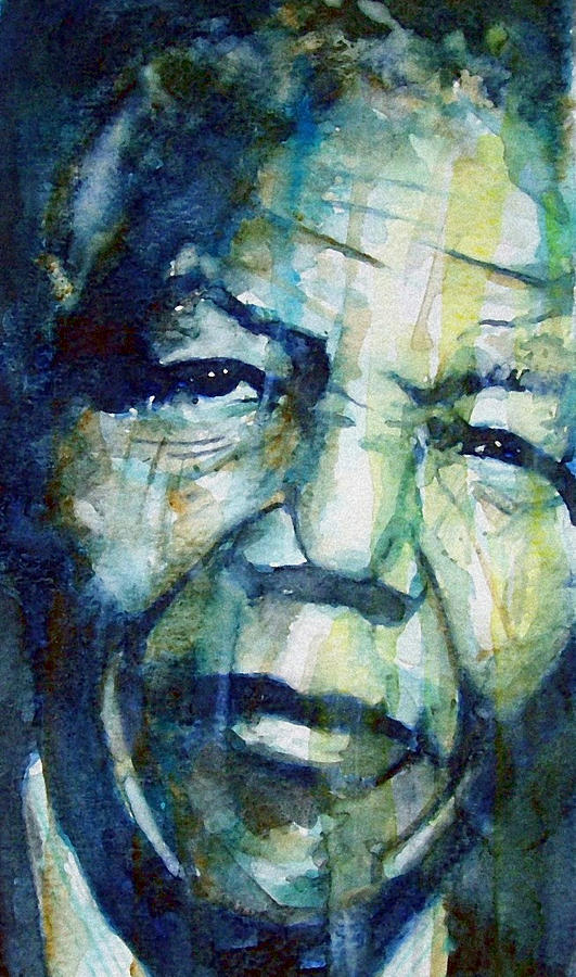 Nelson Mandela Painting - Freedom by Paul Lovering