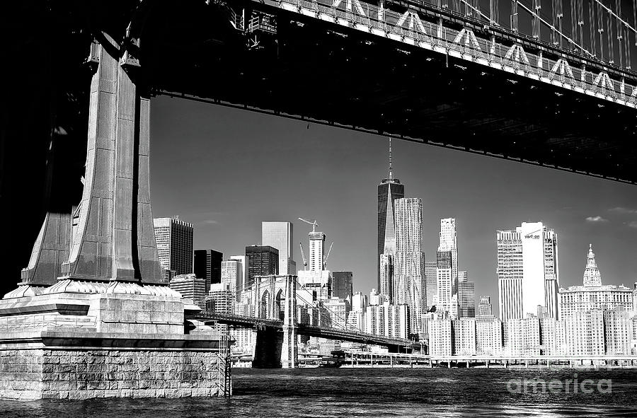 Dumbo Photograph - Freedom Tower From Brooklyn by John Rizzuto