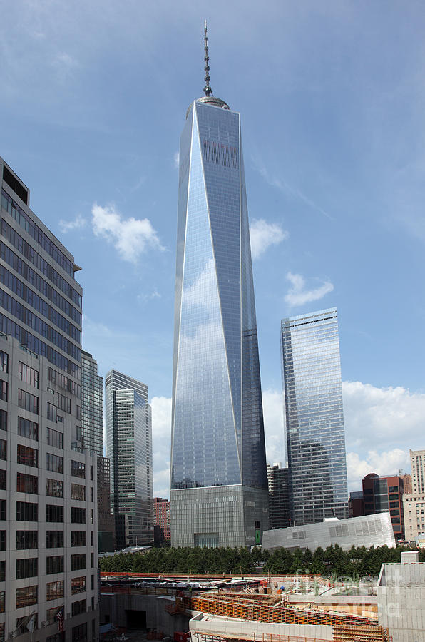 Freedom Tower New York City Photograph by Ros Drinkwater