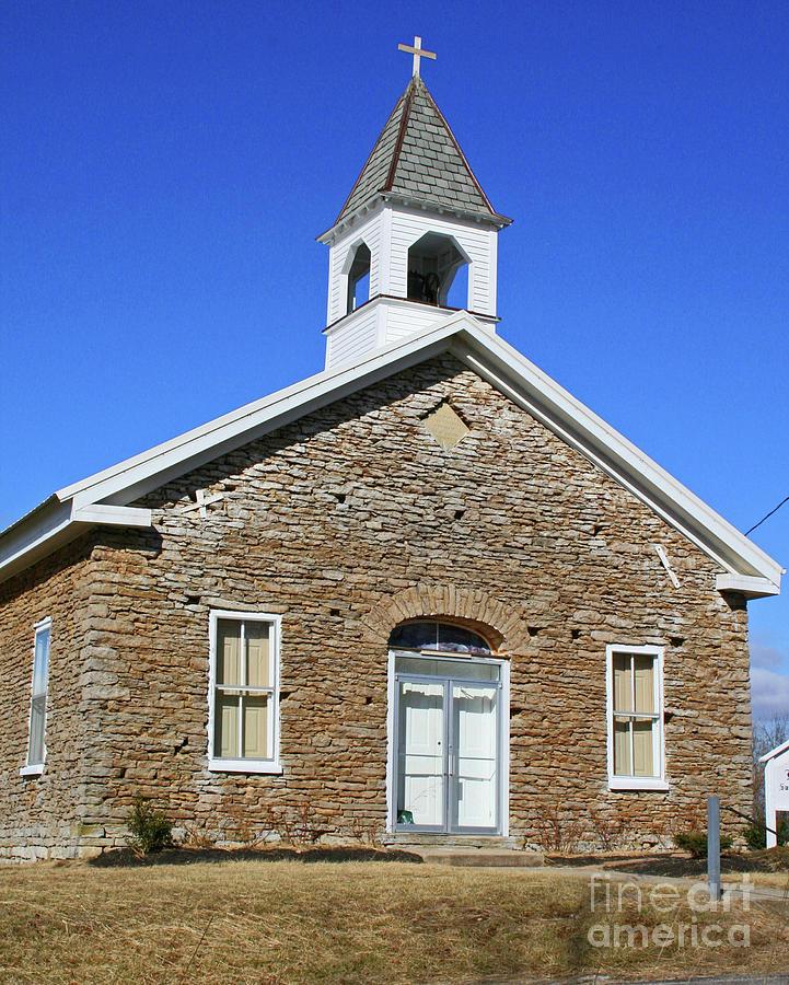 Freedonia Baptist Church by Melissa  Mim Rieman