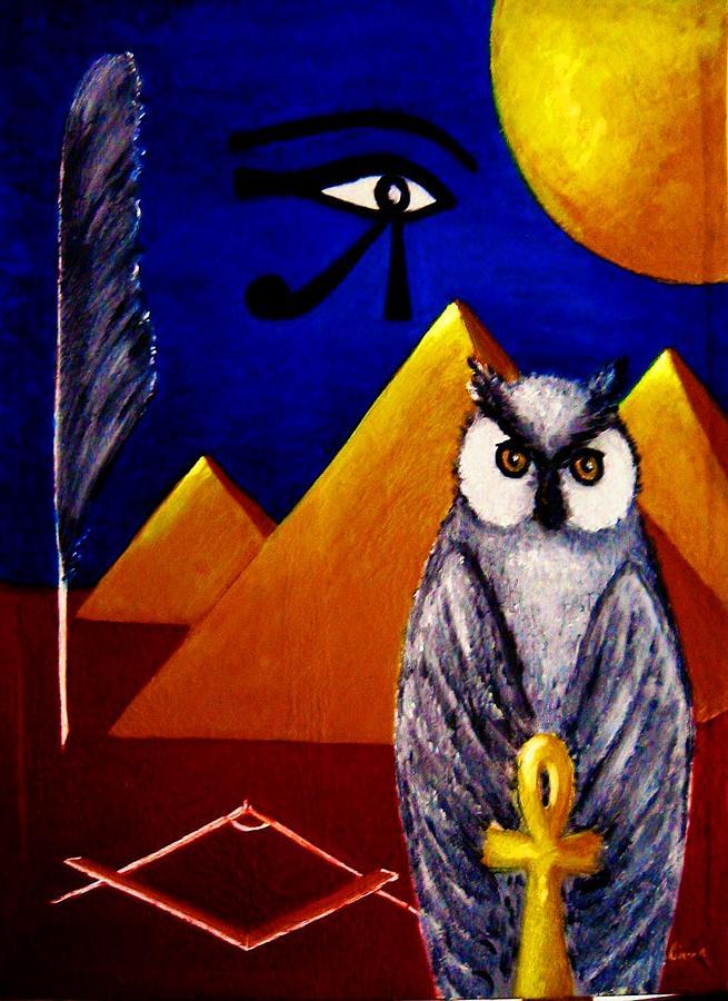 Surrealisme Painting - Freemason Art  by Liana Horbaniuc