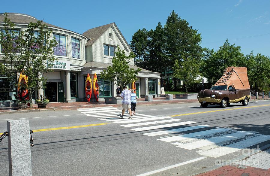 Freeport, Maine #130398 by John Bald