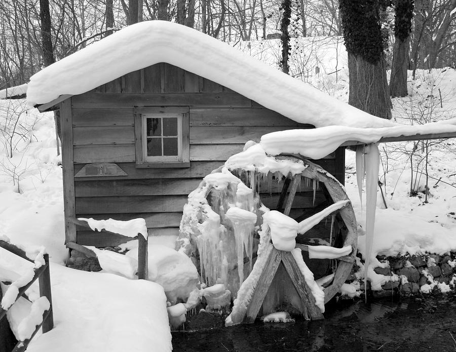 Winter Photograph - Freeze by Robert Babler